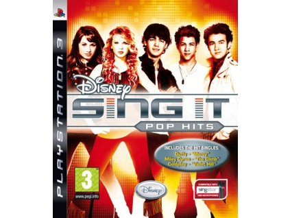 PS3 Disney Sing It Pop Hits