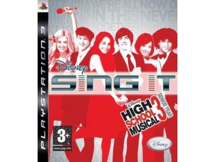 PS3 Disney Sing It High School Musical 3 Senior Year