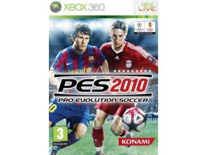 X360 Pro Evolution Soccer 2010 IT Nové