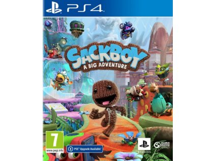 PS4 Sackboy A Big Adventure CZ