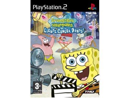 PS2 Spongebob Squarepants Lights Camera Pants