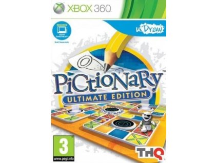 X360 uDraw Pictionary Ultimate Edition