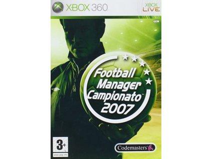 X360 Football Manager Campionato 2007