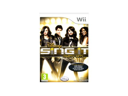 Wii Disney Sing It Party Hits