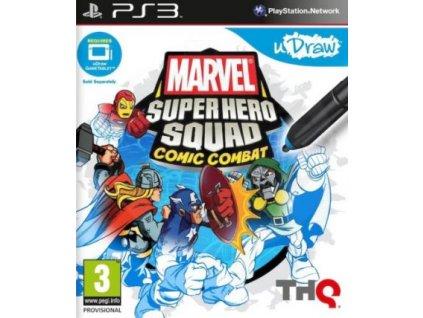PS3 uDraw Marvel Super Hero Squad Comic Combat