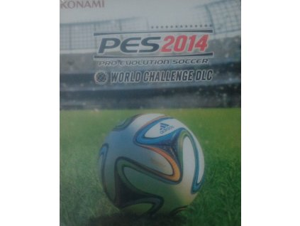 PS3 Pro Evolution Soccer World Challenge Edition 2014