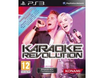 PS3 Karaoke Revolution