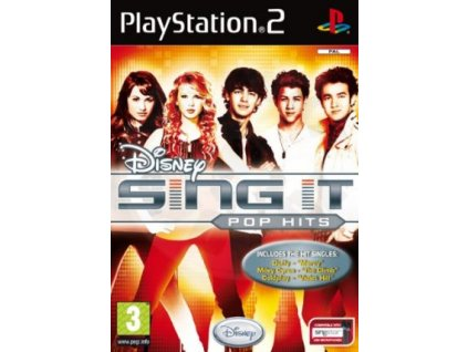 PS2 Disney Sing It Pop Hits