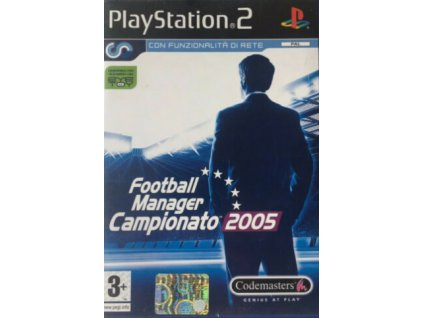 PS2 Football Manager 2005