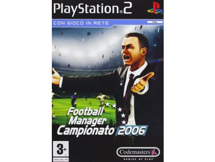PS2 Football Manager 2006