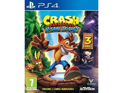 PS4 Crash Bandicoot N Sane Trilogy