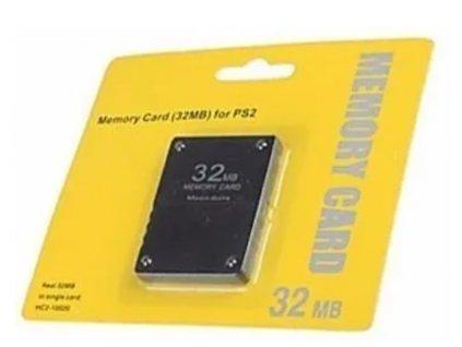 PS2 Paměťová karta 32 MB