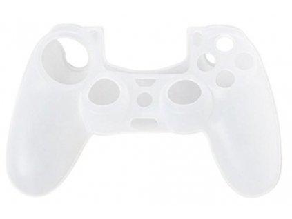 PS4 silikonový obal na ovladač transparentní