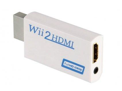 Wii Converter WII na HDMI 1080P bílý