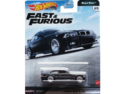 Toys Hot Wheels Premium Fast and Furious BMW M3 E36 Vehicle