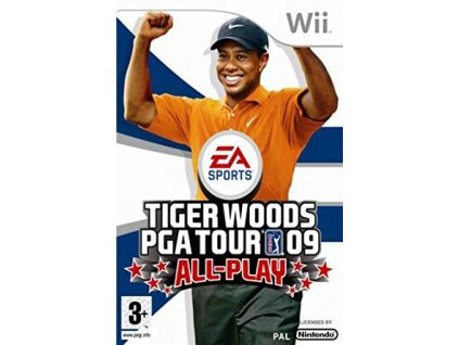 Wii Tiger Woods PGA Tour 09 All Play