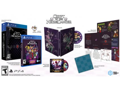 PS4 Crypt of the NecroDancer Collectors Edition
