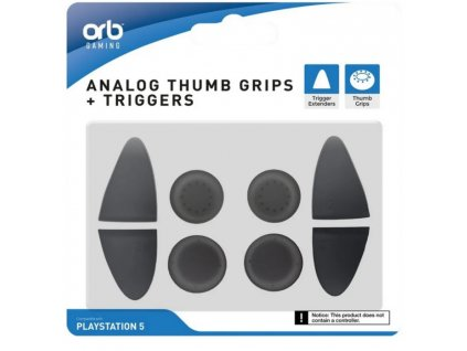 PS5 Analog Thumb Grips Triggers ORB