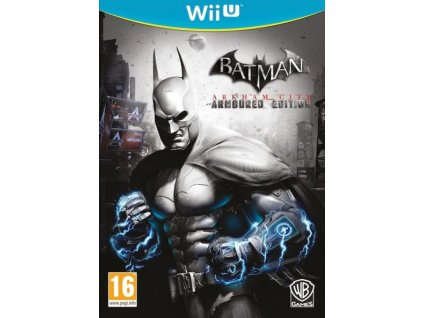 WiiU Batman Arkham City Armoured Edition