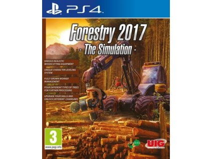 PS4 Forestry 2017 The Simulation