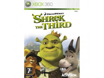 shrek the third xbox 360 big 7807