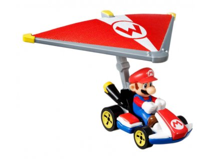 Toys Hot Wheels Mario Kart Mario Standard Kart Super Glider