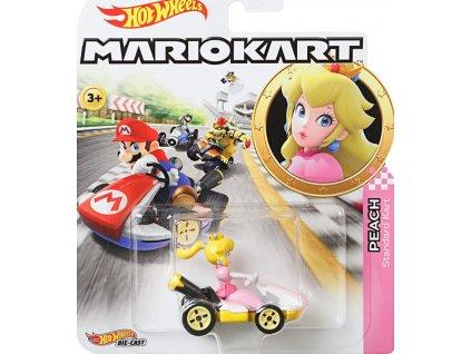 Toys Hot Wheels Mario Kart Princess Peach Standard Kart DieCast1