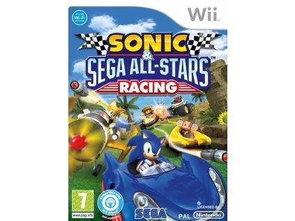 Wii Sonic and Sega All-Stars Racing