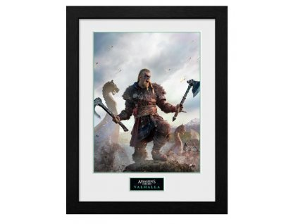 Merch Zarámovaný plakát Assassins Creed Valhalla