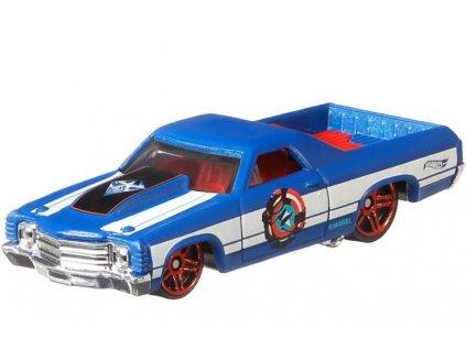 Toys Hot Wheels Marvel SpiderMan Maximum Venom Venomized Captain America 71 El Camino