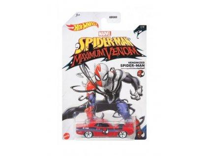 Toys Hot Wheels Marvel SpiderMan Maximum Venom Venomized SpiderMan 70 Dodge Hemi Challenger