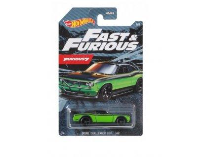 Toys Hot Wheels Fast & Furious Furious 7 Dodge Challenger Drift Car Vehicle1