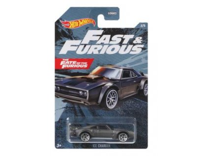 Toys Hot Wheels Fast & Furious The Fate Of The Furious Ice Charger Vehicle1