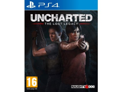 PS4 Uncharted The Lost Legacy CZ