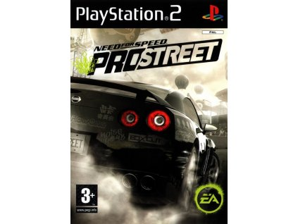 PS2 Need for Speed ProStreet