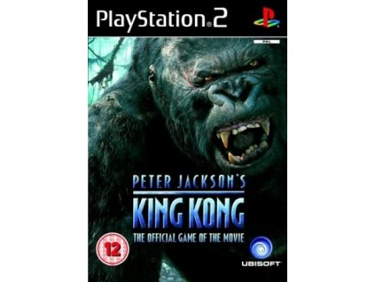 PS2 Peter Jacksons King Kong The Official Game of the Movie