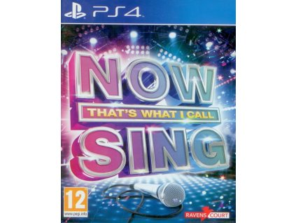 PS4 Now Thats What I Call Sing