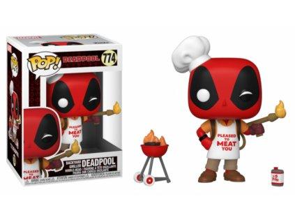 Merch Funko Pop! 774 Marvel Deadpool 30Th Backyard Griller Deadpool
