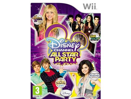 Wii Disney Channel All Star Party