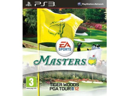 PS3 Tiger Woods PGA Tour 12