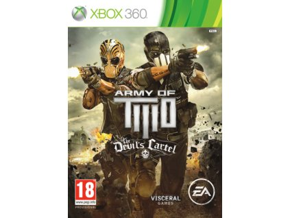 X360 Army of Two The Devils Cartel