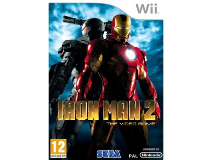 Wii Iron Man 2 The Video Game