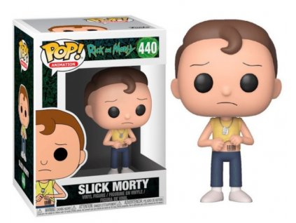 Merch Funko Pop! 440 Rick and Morty Slick Morty