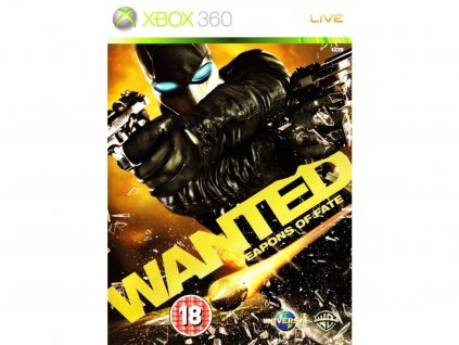 X360 Wanted Weapons of Fate-