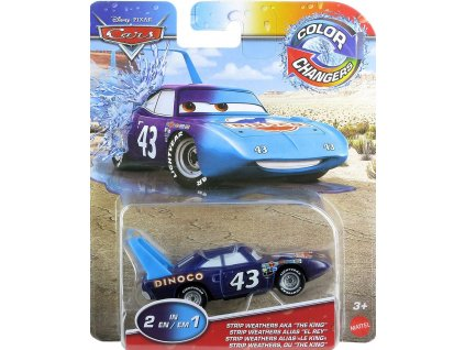 Toys Disney Cars Color Changers Strip Weathers Aka the King Vehicle