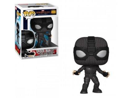 Merch Funko Pop! 469 Marvel Spider Man Far From Home Spider Man Stealth Suit