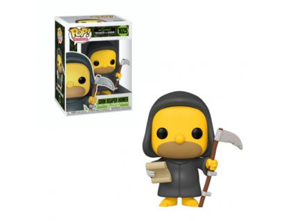 Merch Funko Pop! 1025 The Simpsons Grim Reaper Homer