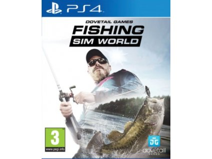 PS4 Fishing Sim World