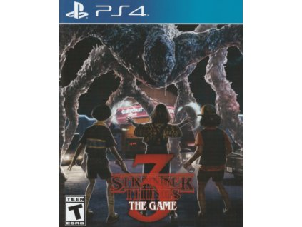 PS4 Stranger Things 3 The Game