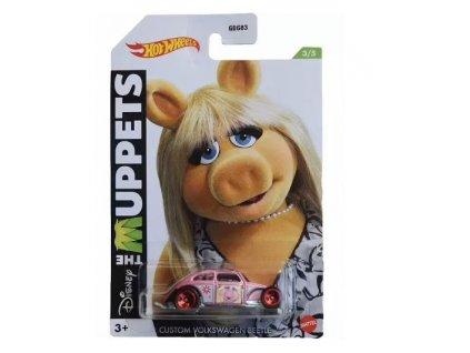Toys Hot Wheels Disney The Muppets Custom Volkswagen Beetle